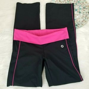 Aerie Fit Athletic Yoga Pants Fold Over Waist